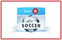 BMO logo sponsors of Chatham Youth Soccer
