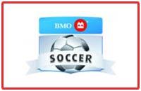 BMO logo sponsors of Chatham Youth Soccer