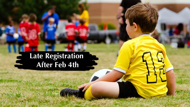 Late registration, Chatham Youth Soccer Association