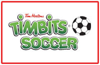 Timbits logo and soccer sponsorship Chatham